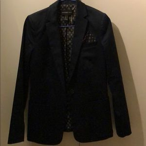 Mango jacket navy blue